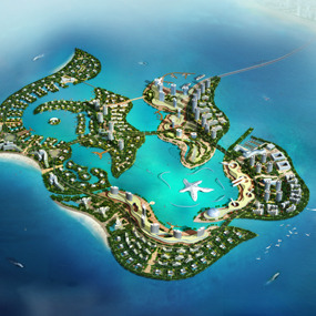 Concept Planning for Sanya Fangxing Island